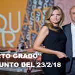 """""""Quarto Grado"""", riassunto del 23/2/18: l'intervista alla madre di Pamela Mastropietro e la scomparsa di Marco Boni"""