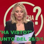 """""""Chi l'ha visto?"""", riassunto del 28/3/18: l'appello Ragusa (con capitombolo di Logli) e la scomparsa di Paola Gambino"""