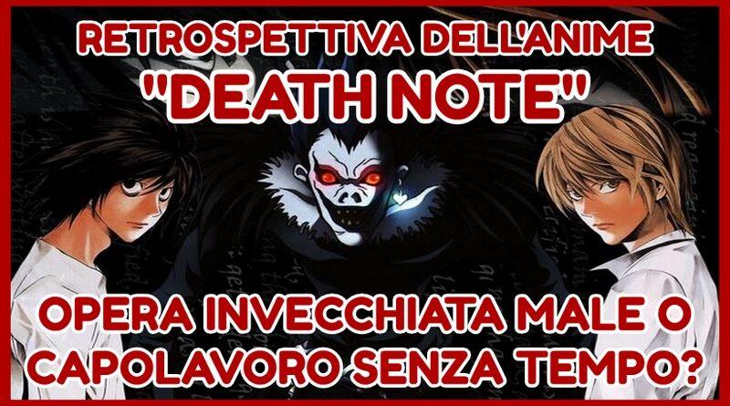 """Retrospettiva dell'anime """"Death Note"""": opera invecchiata male o capolavoro senza tempo?"""